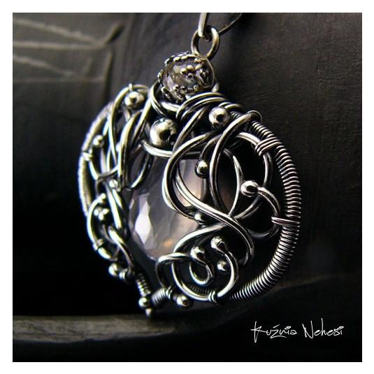 Naszyjnik Rose Dream - Kwarc Rose Srebro