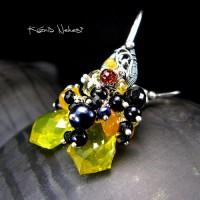 Kolczyki Maravilla Yellow - Onyks Spinel