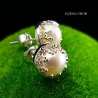 Kolczyki z Perłami Lea – Perły Srebro