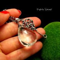 Naszyjnik Dream - Kryształ Górski Srebro