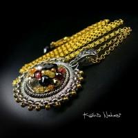 Naszyjnik – Kolekcja Lucido – Szafir Granat …
