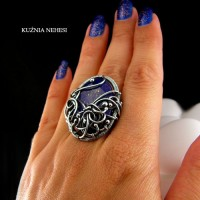Pierścień Deep Blue Sky – Lapis Lazuli