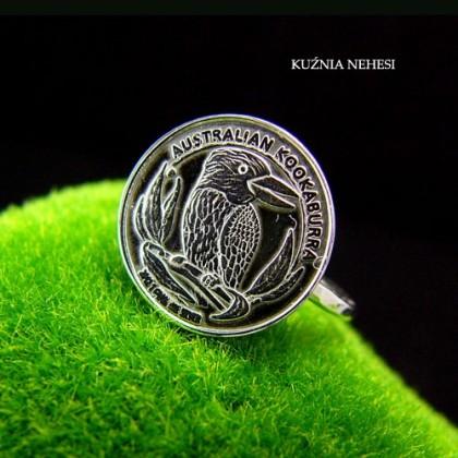 Pierścień Dime - Srebro - Srebro