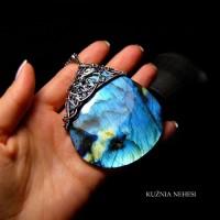 Naszyjnik Ice – kolekcja ,,In A Dream,, Labradoryt Srebro