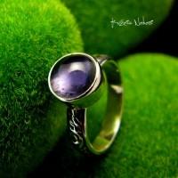Pierścień ze Srebra - Elf z Iolitem