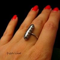 Pierścień Perle - Perła Srebro