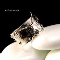 Pierścień Motyl – Tanzanit Srebro