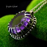 Naszyjnik Purple - Ametyst Srebro I