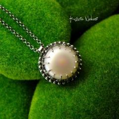 Naszyjnik Pearl - Perła Srebro