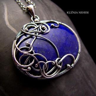 Naszyjnik – Deep Blue Sky – kolekcja ,, In A Dream,,