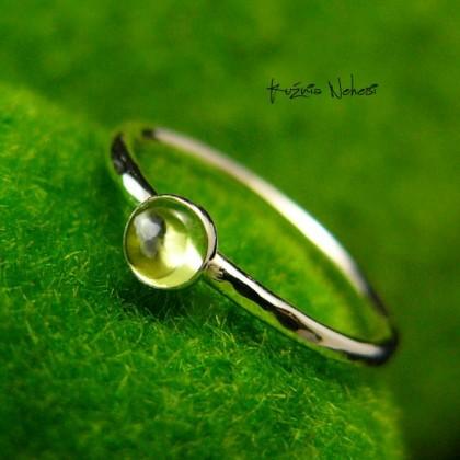 Pierścień Drobinek - Oliwin Srebro