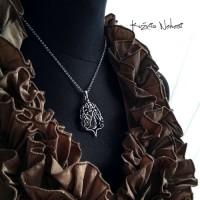Naszyjnik Wire Wrapping Rose – Srebro Kwarc