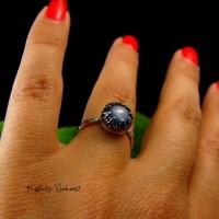 Pierścień Ink - Kyanit Srebro
