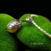 Naszyjnik z Perłą - Srebro Perła